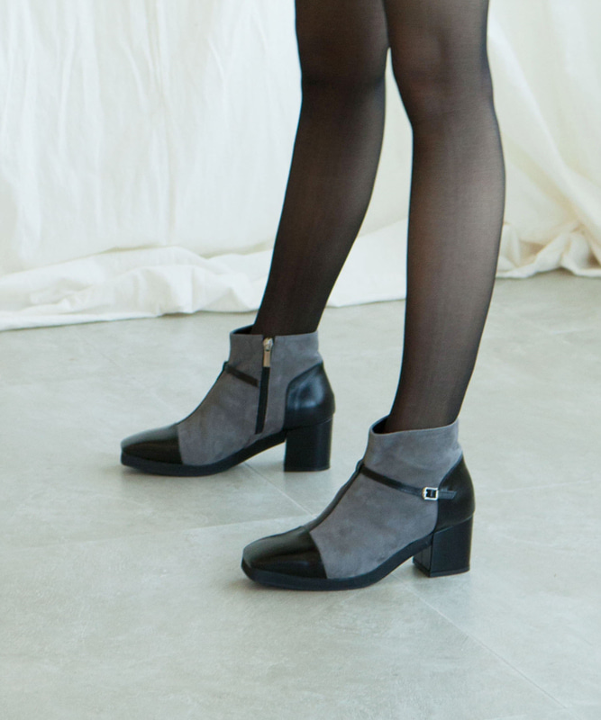 T-Strap Ankle Boots - GB (티스트랩앵클부츠)