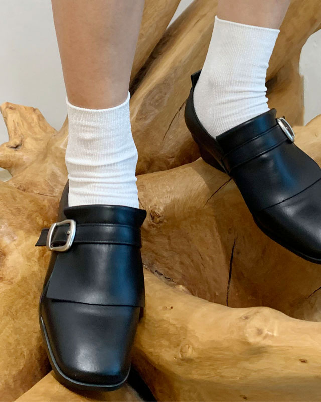 Classic Belted Loafer - BK (클래식 벨티드 로퍼)