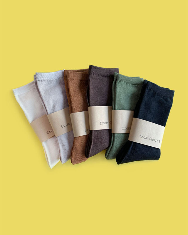 Basic Pearl Socks - 6 color