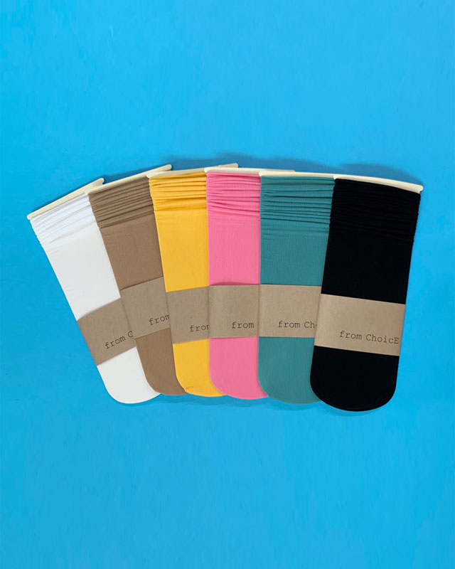 Color Stocking Socks - 6 colors